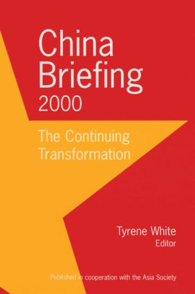 China Briefing: 1997-1999: A Century of Transformation, 2nd Edition (Hardback) book cover
