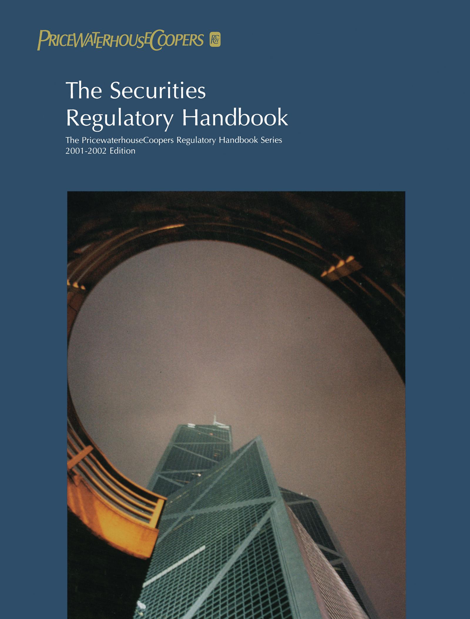 The Securities Regulatory Handbook: 2000-2001, 2nd Edition (Paperback) book cover
