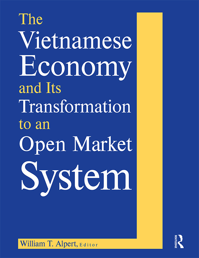 The Vietnamese Economy and Its Transformation to an Open Market System: 1st Edition (Hardback) book cover