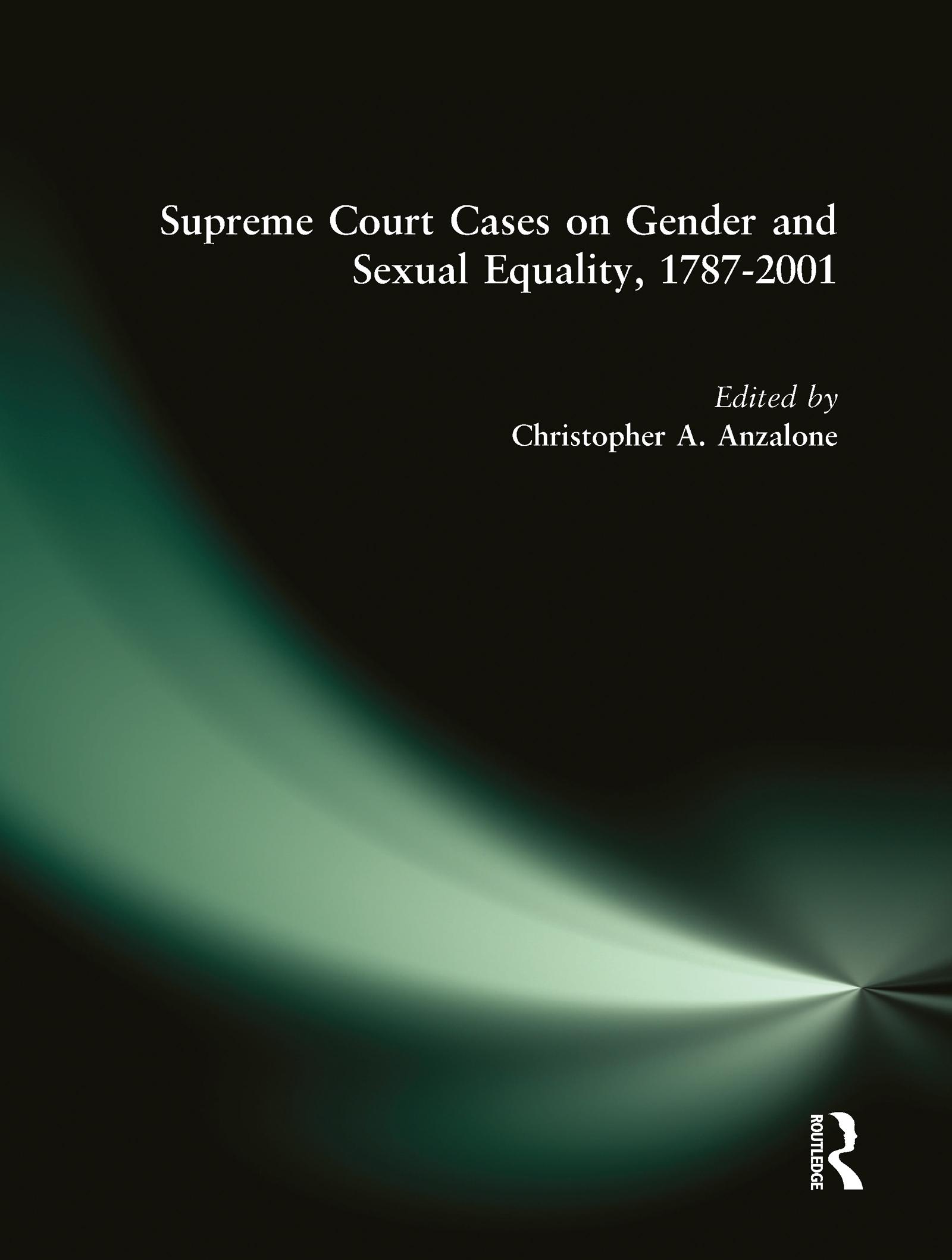 Supreme Court Cases on Political Representation, 1787-2001: 1st Edition (Hardback) book cover
