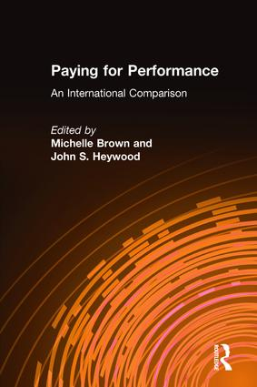 Paying for Performance: An International Comparison: An International Comparison, 1st Edition (Hardback) book cover