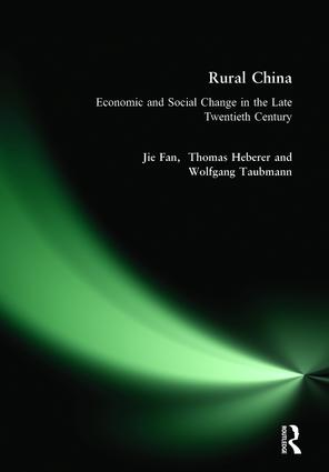 Rural China: Economic and Social Change in the Late Twentieth Century: Economic and Social Change in the Late Twentieth Century, 1st Edition (Hardback) book cover