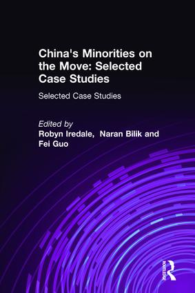 China's Minorities on the Move: Selected Case Studies: Selected Case Studies, 1st Edition (Hardback) book cover
