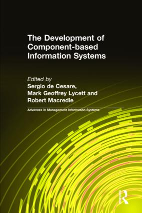 The Development of Component-based Information Systems: 1st Edition (Hardback) book cover