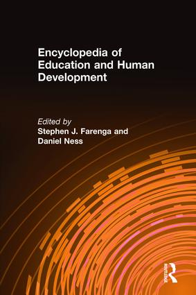Encyclopedia of Education and Human Development: 1st Edition (Hardback) book cover