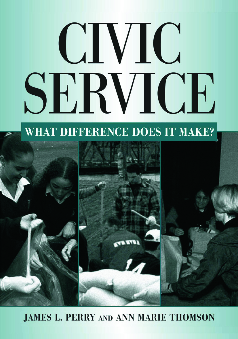 Civic Service: What Difference Does it Make?: What Difference Does it Make?, 1st Edition (Hardback) book cover
