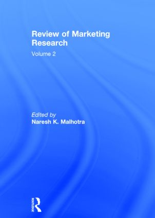 Review of Marketing Research: Volume 2, 1st Edition (Hardback) book cover