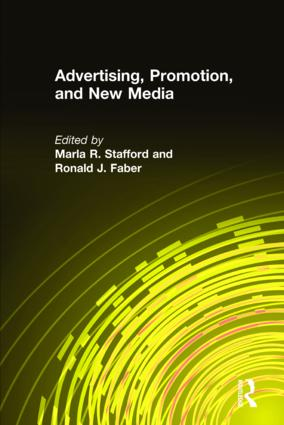 Advertising, Promotion, and New Media: 1st Edition (Hardback) book cover