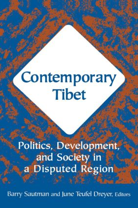 Contemporary Tibet: Politics, Development and Society in a Disputed Region, 1st Edition (Paperback) book cover