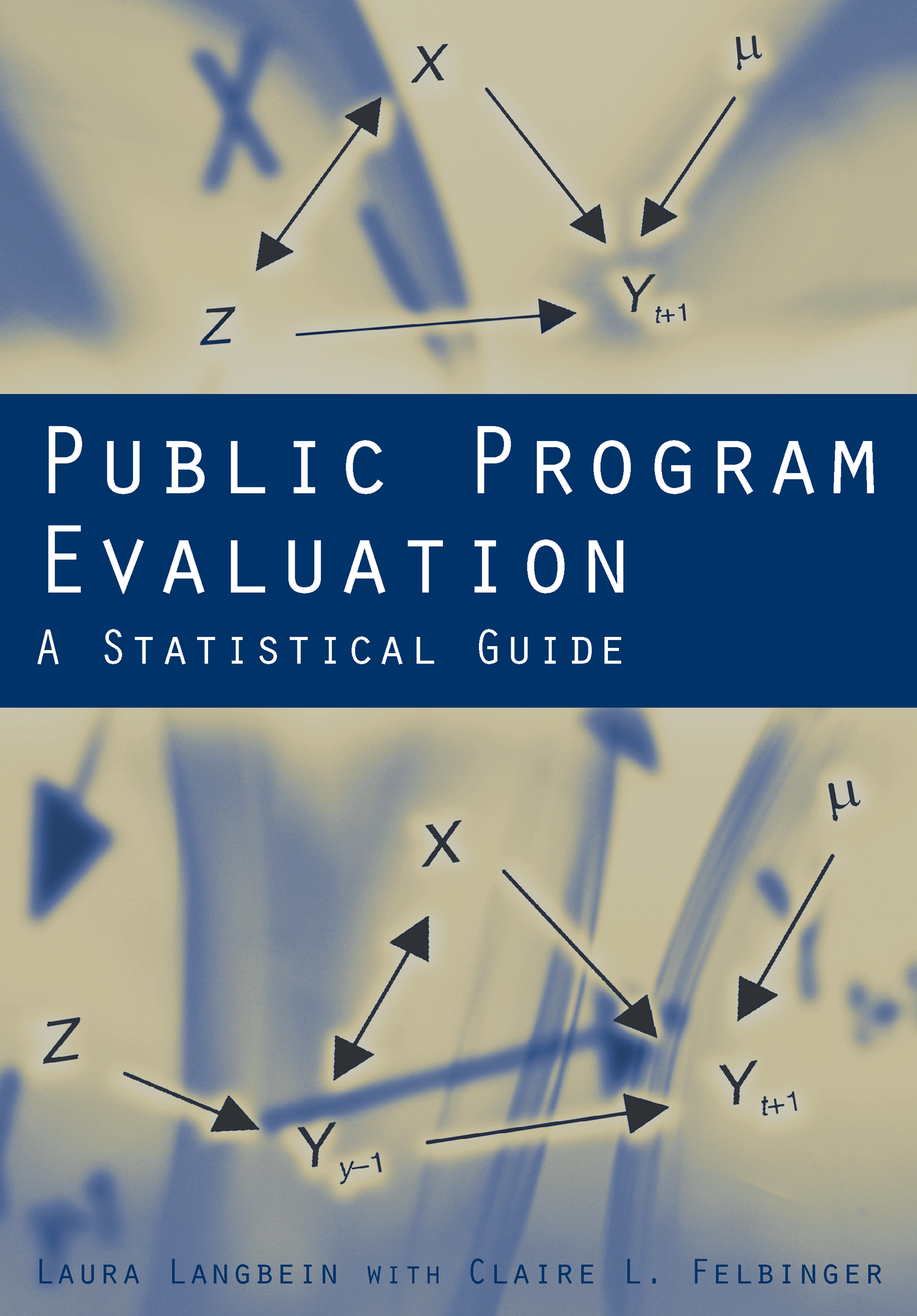 Public Program Evaluation: A Statistical Guide, 1st Edition (Paperback) book cover