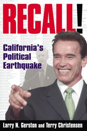 Recall!: California's Political Earthquake