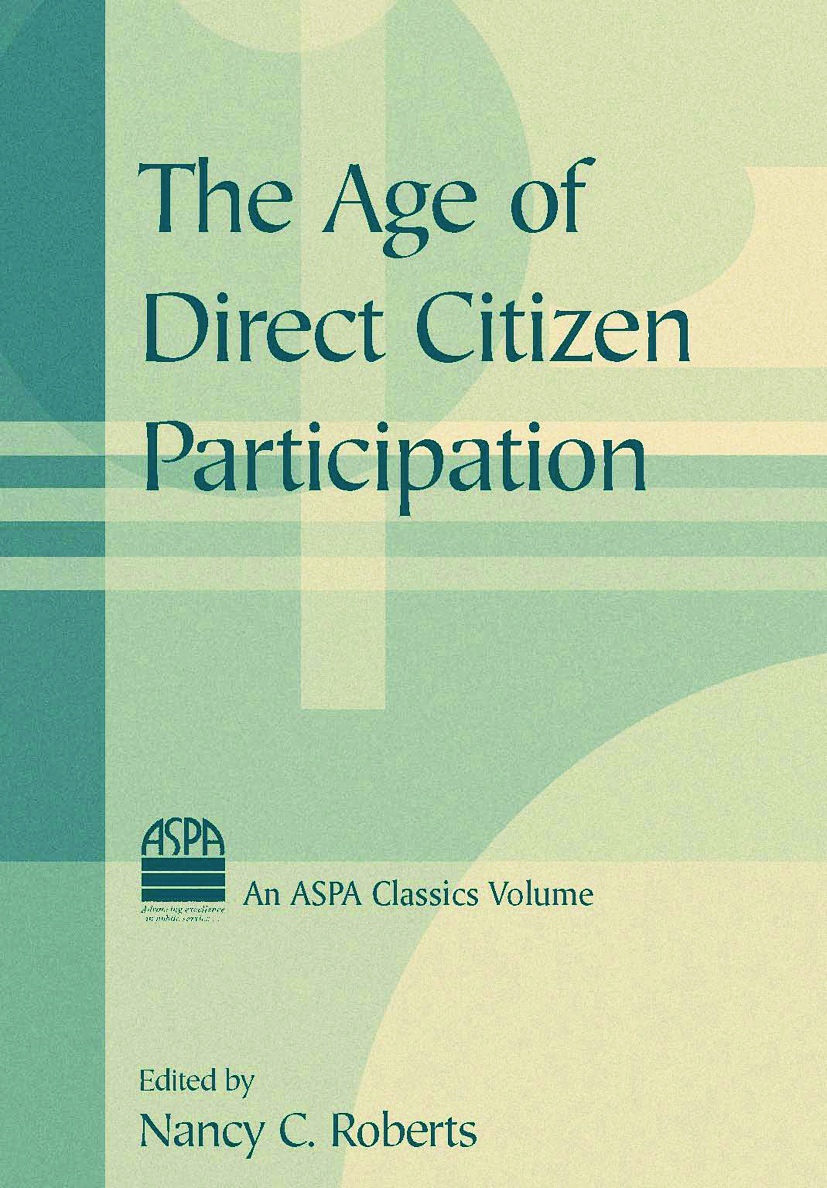 The Age of Direct Citizen Participation: 1st Edition (Hardback) book cover