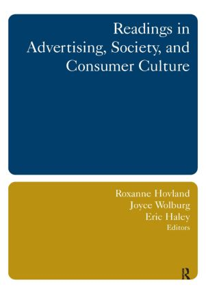 Readings in Advertising, Society, and Consumer Culture: 1st Edition (Paperback) book cover