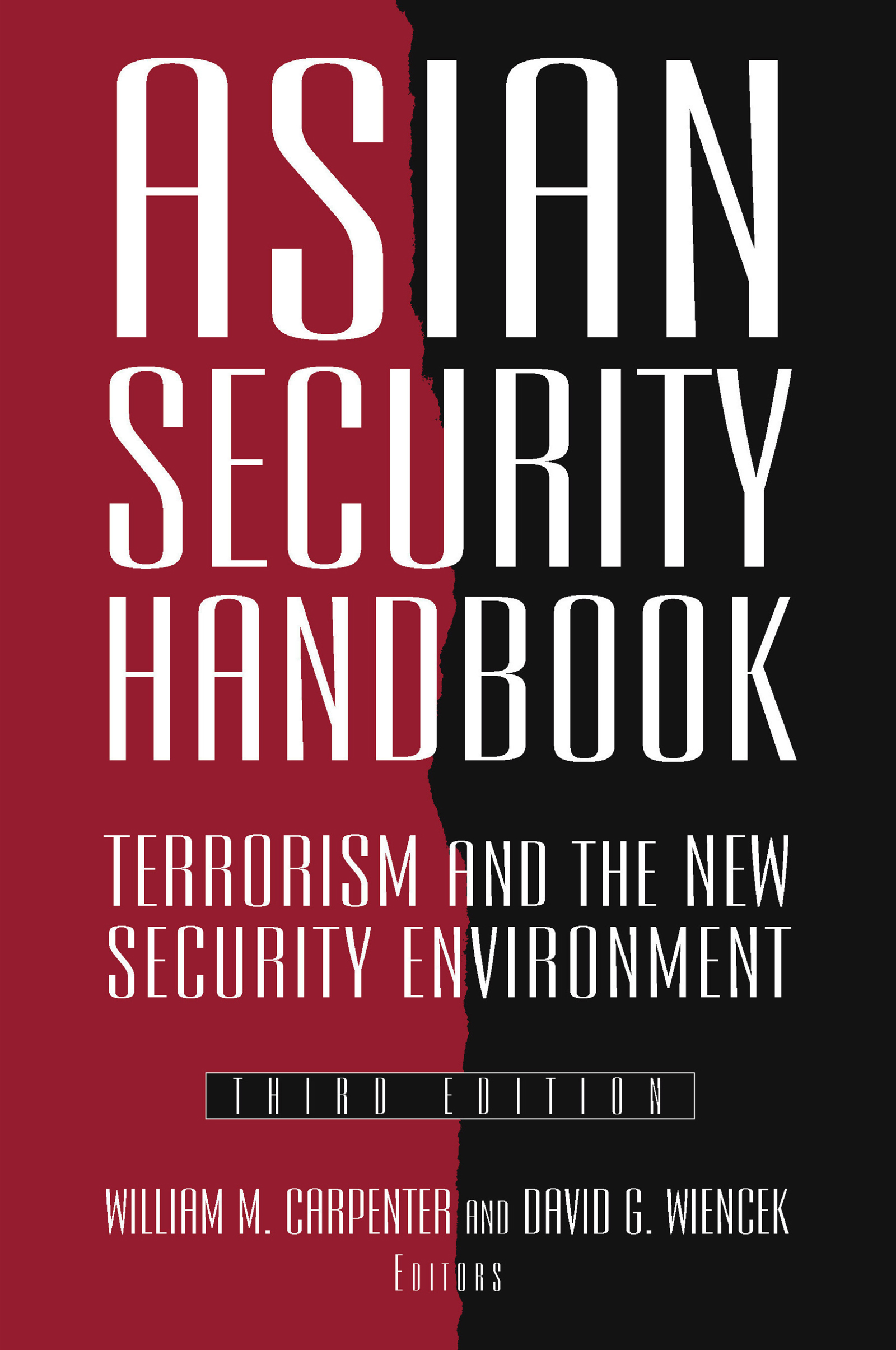 Asian Security Handbook: Terrorism and the New Security Environment book cover