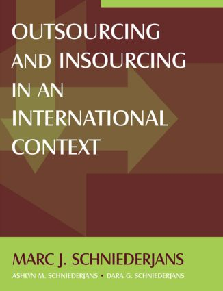 Outsourcing and Insourcing in an International Context: 1st Edition (Paperback) book cover