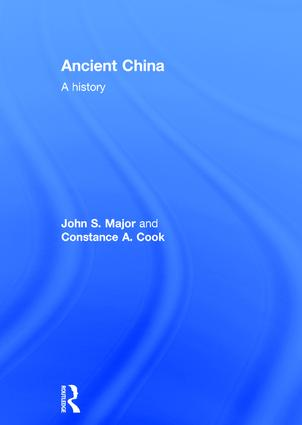 Ancient China: A History, 1st Edition (Hardback) book cover