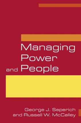 Managing Power and People: 1st Edition (Paperback) book cover