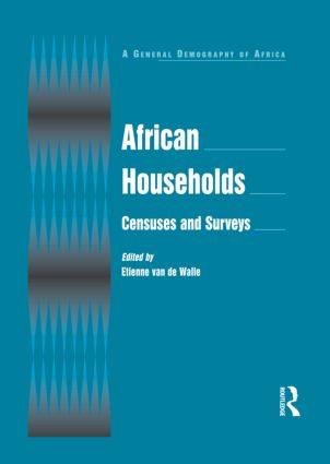 African Households: Censuses and Surveys: Censuses and Surveys, 1st Edition (Hardback) book cover