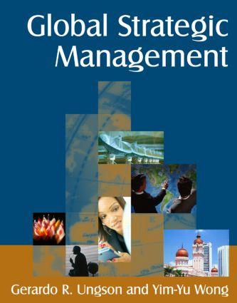 Global Strategic Management: 1st Edition (Paperback) book cover