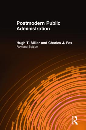 Postmodern Public Administration: 1st Edition (Paperback) book cover