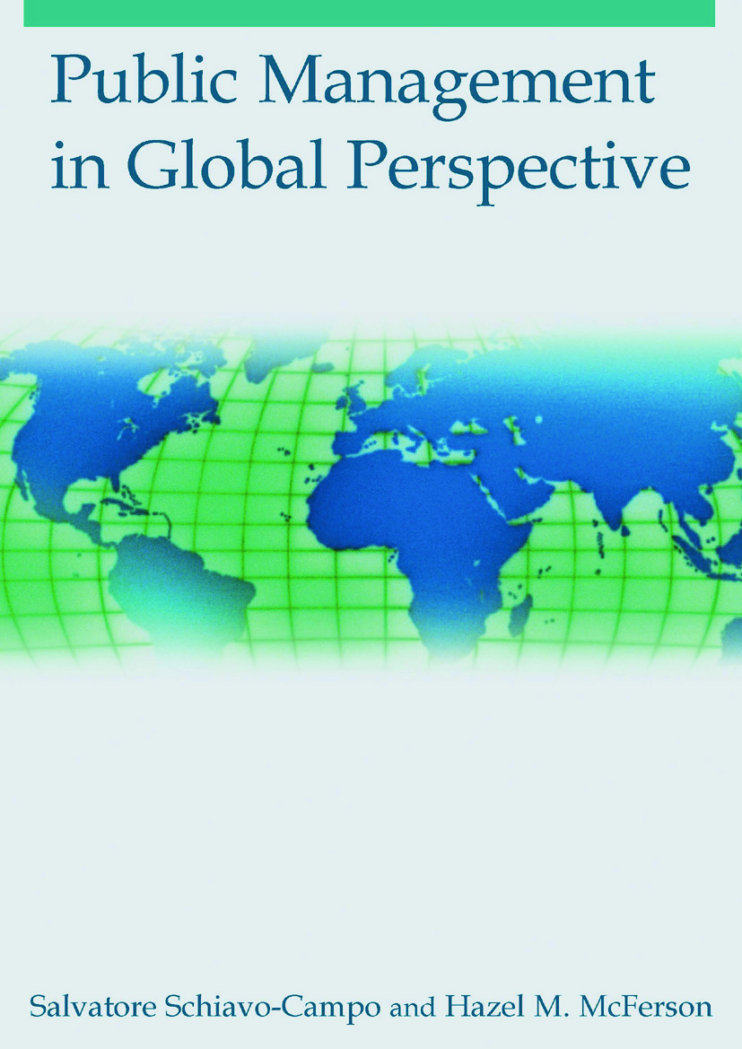 Public Management in Global Perspective: 1st Edition (Paperback) book cover