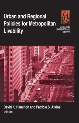 Urban and Regional Policies for Metropolitan Livability book cover
