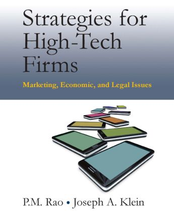 Strategies for High-Tech Firms: Marketing, Economic, and Legal Issues, 1st Edition (Paperback) book cover