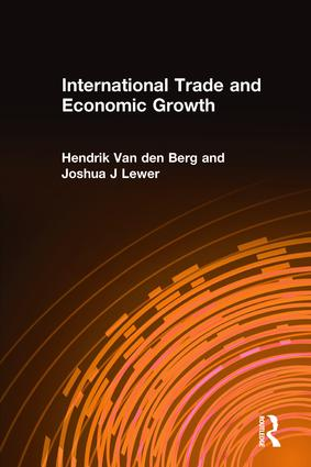 International Trade and Economic Growth: 1st Edition (Paperback) book cover