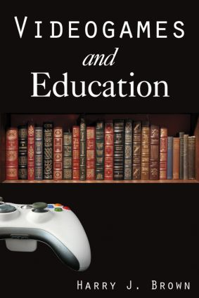Videogames and Education: 1st Edition (Hardback) book cover