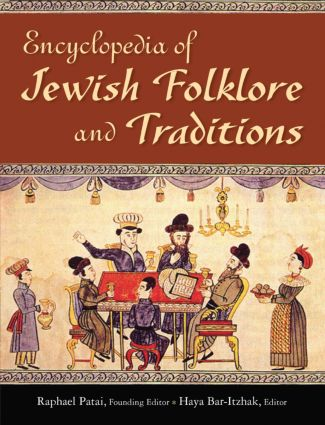 Encyclopedia of Jewish Folklore and Traditions book cover