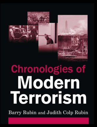 Chronologies of Modern Terrorism: 1st Edition (Hardback) book cover