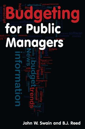 Budgeting for Public Managers: 1st Edition (Paperback) book cover