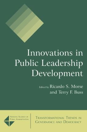 Innovations in Public Leadership Development: 1st Edition (Paperback) book cover