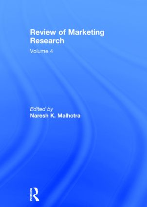 Review of Marketing Research: Volume 4, 1st Edition (Hardback) book cover