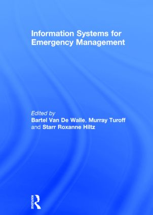 Information Systems for Emergency Management: 1st Edition (Hardback) book cover