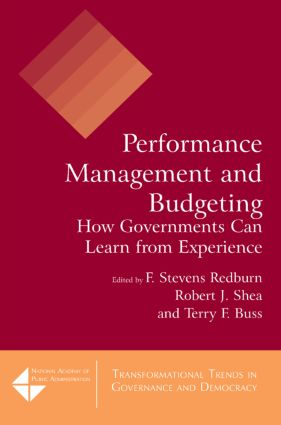 Performance Budgeting: Prospects for Sustainability