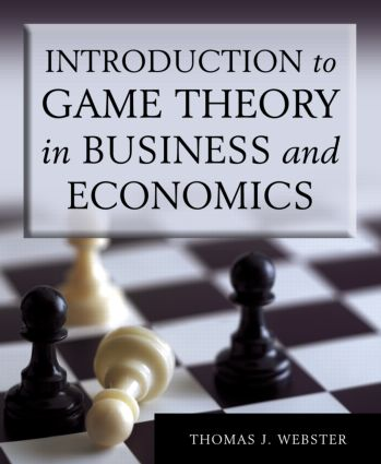 Introduction to Game Theory in Business and Economics (Paperback) book cover