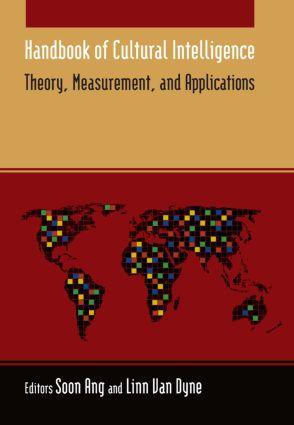 Handbook of Cultural Intelligence: Theory, Measurement, and Applications, 1st Edition (Hardback) book cover