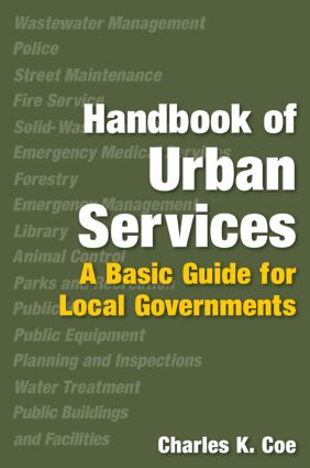Handbook of Urban Services: Basic Guide for Local Governments, 1st Edition (Paperback) book cover