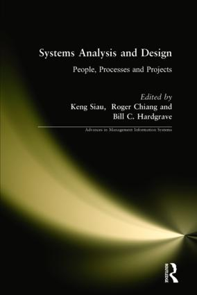 Systems Analysis and Design: People, Processes, and Projects: 1st Edition (Hardback) book cover