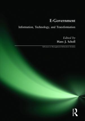 E-Government: Information, Technology, and Transformation: Information, Technology, and Transformation, 1st Edition (Paperback) book cover