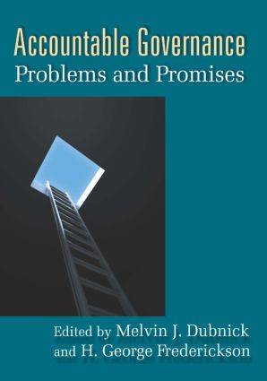 Accountable Governance: Problems and Promises, 1st Edition (Paperback) book cover