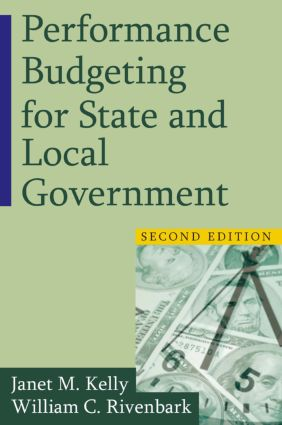 Performance Budgeting for State and Local Government: 2nd Edition (Paperback) book cover