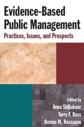 Evidence-Based Public Management: Practices, Issues and Prospects: Practices, Issues and Prospects, 1st Edition (Paperback) book cover