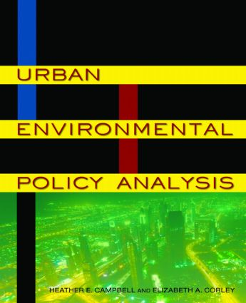 Urban Environmental Policy Analysis book cover