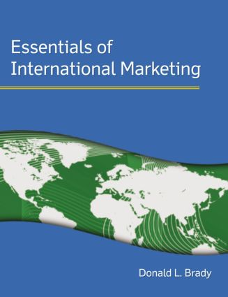 Essentials of International Marketing: 1st Edition (Paperback) book cover