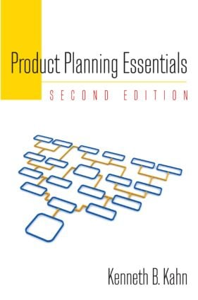 Product Planning Essentials: 2nd Edition (Hardback) book cover
