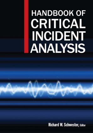 Handbook of Critical Incident Analysis: 1st Edition (Hardback) book cover