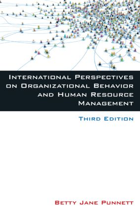 International Perspectives on Organizational Behavior and Human Resource Management: 3rd Edition (Paperback) book cover