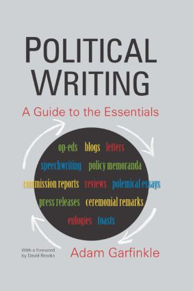 Political Writing: A Guide to the Essentials: A Guide to the Essentials, 1st Edition (Paperback) book cover